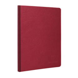 Clairefontaine - Clairefontaine Age Bag Kareli 192 Sayfa A5 Kırmızı