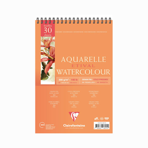 Clairefontaine - Clairefontaine Aquarelle Etival Watercolor A5 Sulu Boya Defteri 5704