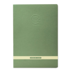 Clairefontaine - Clairefontaine CROK BOOK A4 Çizim Defteri Yeşil