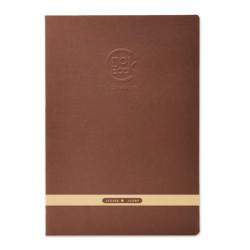 Clairefontaine - Clairefontaine CROK BOOK A4 Çizim Defteri Koyu Kahve