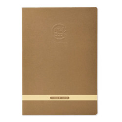Clairefontaine - Clairefontaine CROK BOOK A4 Çizim Defteri Açık Kahve