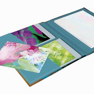 Clairefontaine Egerie Correspondance Cards A5 Kart / Zarf ve Defter Seti 115460C 4602 - Thumbnail