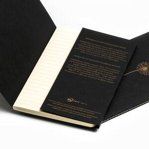 Clairefontaine Flying Spirit 11x17cm Notebook Siyah Kapak 96 Sayfa Çizgili Defter live learn evolve 102506C 2643 - Thumbnail