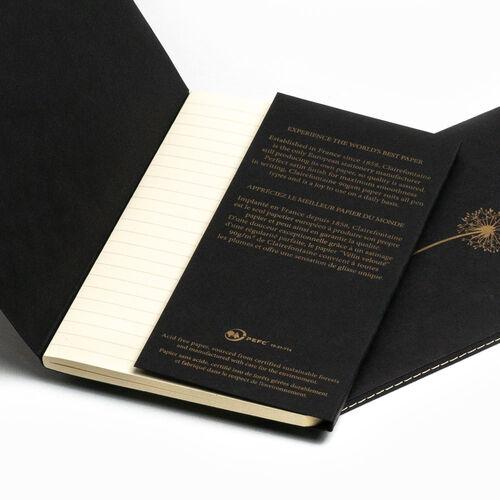 Clairefontaine Flying Spirit 11x17cm Notebook Siyah Kapak 96 Sayfa Çizgili Defter live learn evolve 102506C 2643