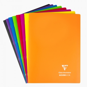 Clairefontaine - Clairefontaine KoverBook A4 Çizgili Defter 5118