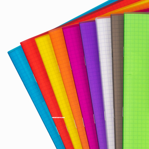 Clairefontaine - Clairefontaine KoverBook Şeffaf Kapak 24X32cm Kareli Defter 6013 (1)