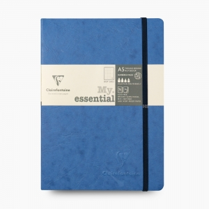 Clairefontaine - Clairefontaine My Essential A5 Dot (Noktalı) Defter Mavi 4345