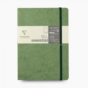 Clairefontaine - Clairefontaine My Essential A5 Dot (Noktalı, Dolma Kalem Uyumlu) Defter Yeşil 4338