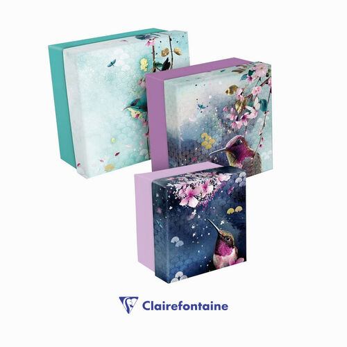 Clairefontaine Sakura Dream 3'lü Kutu Seti 115605C 6057
