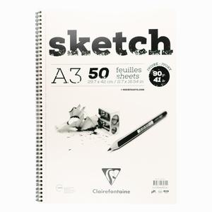Clairefontaine Sketch A3 90gr Ivory Çizim Defteri 2604 - Thumbnail