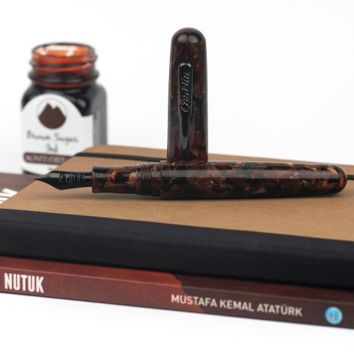 Conklin All American Brownstone Dolma Kalem Medium Uç 4522