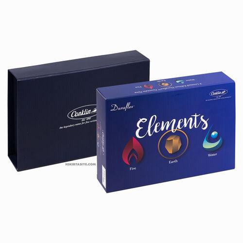 Conklin Duraflex Elements Limited Edition 3'lü Flex Uç Dolma Kalem Seti 2494