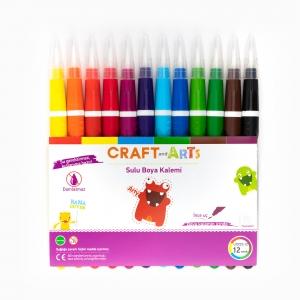 Craft and Arts - Craft and Arts 12'li Sulu Boya Kalemi 7959