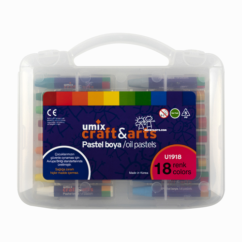 Craft And Arts 18 Renk Pastel Boya Seti 8387