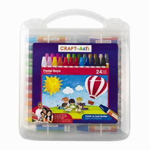 Craft and Arts - Craft And Arts 24 Renk Pastel Boya Seti 8394