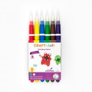 Craft and Arts - Craft and Arts 6'lı Sulu Boya Kalemi 7942