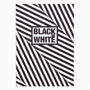 Deffter - Deffter Black on White Siyah Defter BIAS 3369