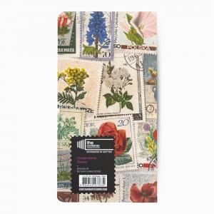 Deffter - Deffter Flowers Postage Stamp Çizgisiz Defter 3635 (1)