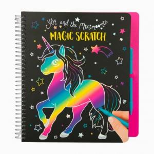Depesche - Depesche Ylvi & the Minimoomis Magic Scratch Renkli Boyama Kitabı 0410453_A 9955