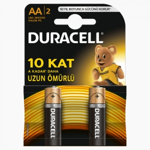Duracell - Duracell AA 2'li Pil 6914