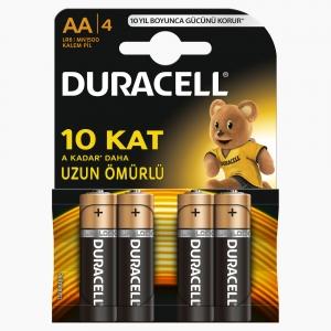 Duracell - Duracell AA 4'lü Pil 6945