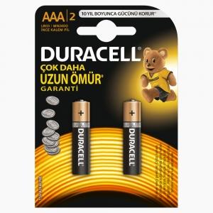 Duracell - Duracell AAA 2'li Pil 7126
