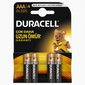 Duracell - Duracell AAA 4'lü Pil 7157