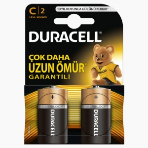 Duracell - Duracell C 2'li Pil 6747