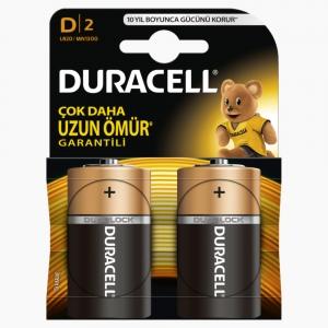 Duracell - Duracell D 2'li Pil 6716