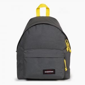 Eastpak - EASTPAK Padded Pak′r Grey-Yellow Sırt Çantası EK62053U
