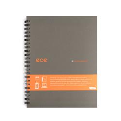 Ece - Ece Whitelines A5 Kareli Defter