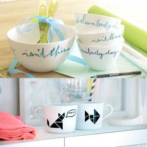 Edding - Edding 4200 6'lı Porselen Kalem Seti Soğuk Renkler 0699 (1)