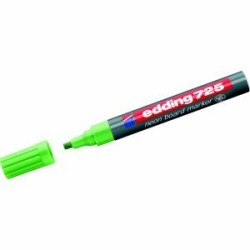Edding - Edding 725 Neon Tahta Kalemi Yeşil