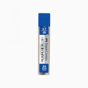 Faber Castell - Faber Castell 0.7 mm 2B 24'lü Min (Uç) 12 77 20