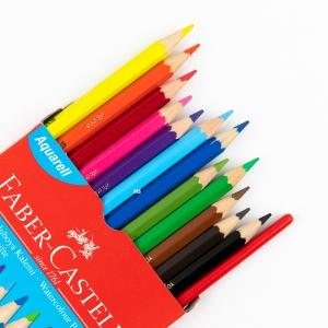 Faber Castell - Faber Castell 12 Renk Suluboya Kalem Seti 110622 3155 (1)