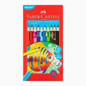 Faber Castell - Faber Castell 12 Renk Suluboya Kalem Seti 110622 3155