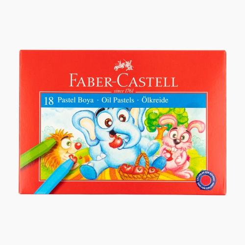 Faber Castell 18 Renk Pastel Boya Seti 125318 5364