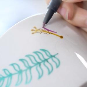 Faber Castell 2020 Özel Seri 6'lı Metalik Keçeli Kalem - Thumbnail
