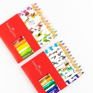 Faber Castell - Faber Castell 24 Renk Jumbo Üçgen Ekolojik Boya Kalemi 123024 5113 (1)
