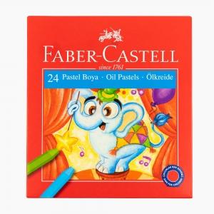 Faber Castell - Faber Castell 24 Renk Pastel Boya Seti 125324 5388