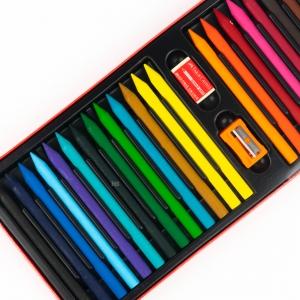 Faber Castell - Faber Castell 25 Renk Silinebilir Mum Boya 122725 7251 (1)