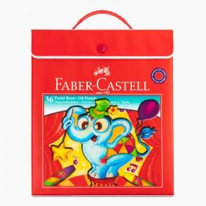 Faber Castell - Faber Castell 36 Renk Çantalı Pastel Boya Seti 125137 6156