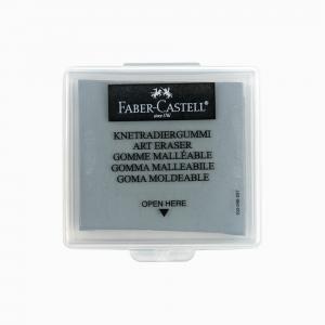 Faber Castell - Faber-Castell Art Eraser Hamur Silgi Gri 127220 9225