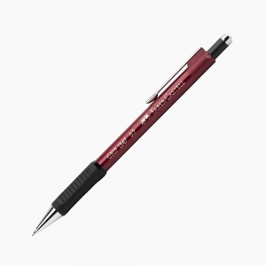Faber Castell - Faber Castell Grip II 1347 0.7 mm Mekanik Kurşun Kalem Kırmızı 7217
