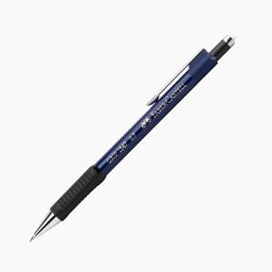 Faber Castell - Faber Castell Grip II 1347 0.7 mm Mekanik Kurşun Kalem Mavi 7514