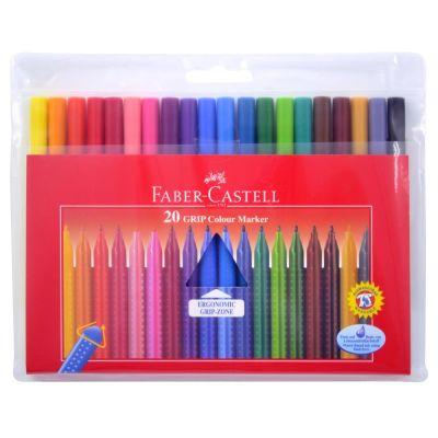 Faber Castell Grip Keçeli Kalem 20 Renk