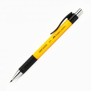 Faber Castell - Faber-Castell GRIP MATIC 0.5 mm Mekanik Kurşun Kalem Sarı 13 18 07 7874