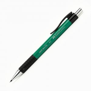 Faber Castell - Faber-Castell GRIP MATIC 0.5 mm Mekanik Kurşun Kalem Yeşil 13 18 63 7256