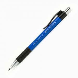 Faber Castell - Faber-Castell GRIP MATIC 0.7 mm Mekanik Kurşun Kalem Mavi 13 19 51 9511