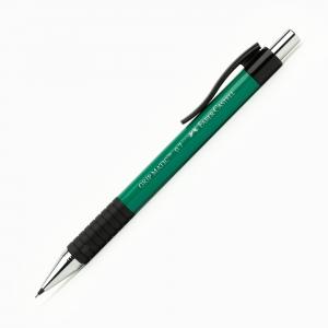Faber Castell - Faber-Castell GRIP MATIC 0.7 mm Mekanik Kurşun Kalem Yeşil 13 19 63 7270